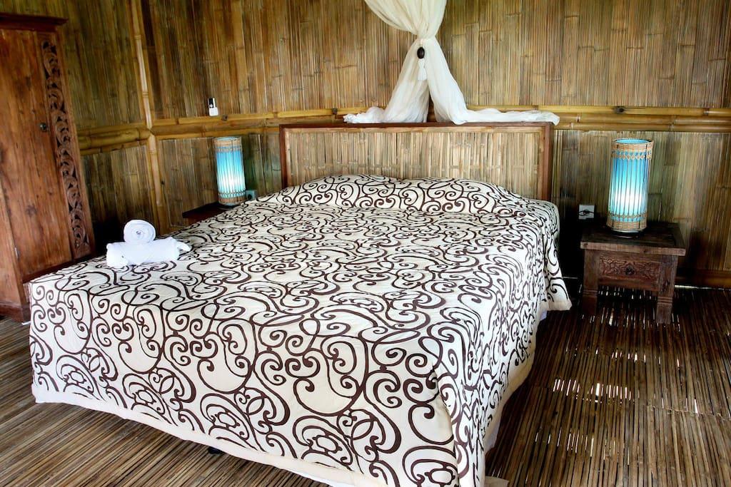 Bamboo House room