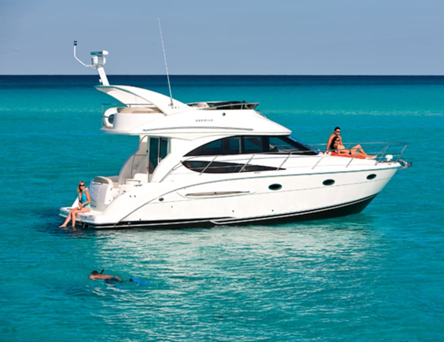 Meridian 341 yacht boats for rent in ca california for Houseboats for rent in california