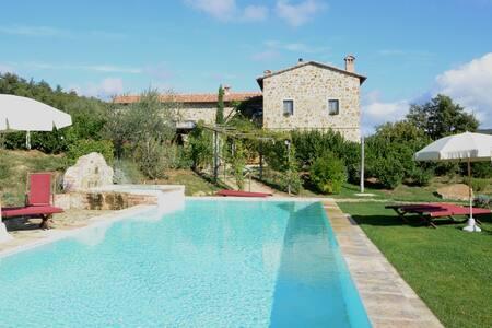 Old tower - Orcia Park - Tuscany - Montepulciano - Villa