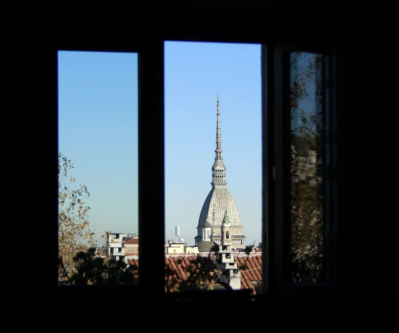 vista dalla camera: Mole Antonelliana