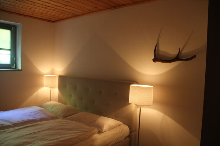 Modern Double room (A) in Nature - Altmünster near Gmunden - Bed & Breakfast
