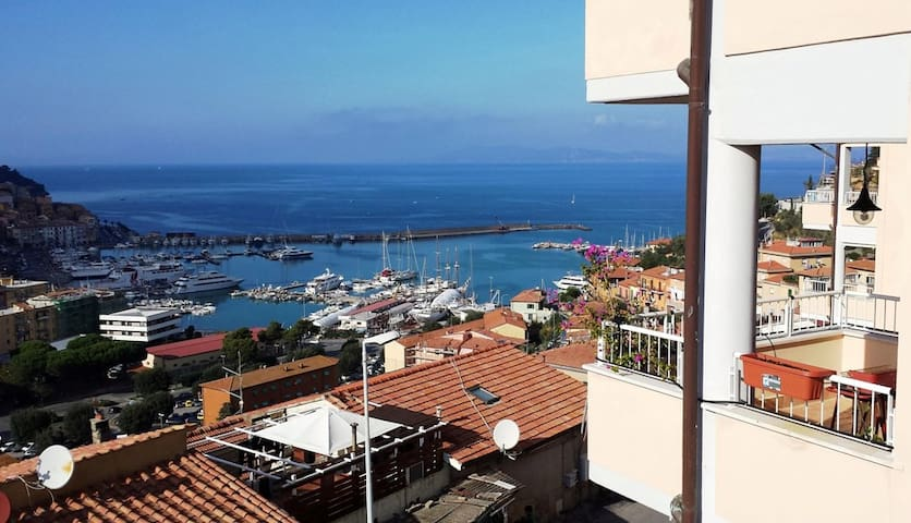 Cozy apartment with sea view - Monte Argentario - Byt