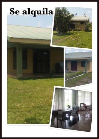 Casa y Quinta para alquiler - Muelle San Carlos