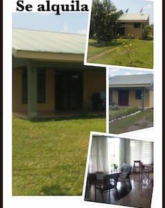 Casa y Quinta para alquiler - Muelle San Carlos - Casa
