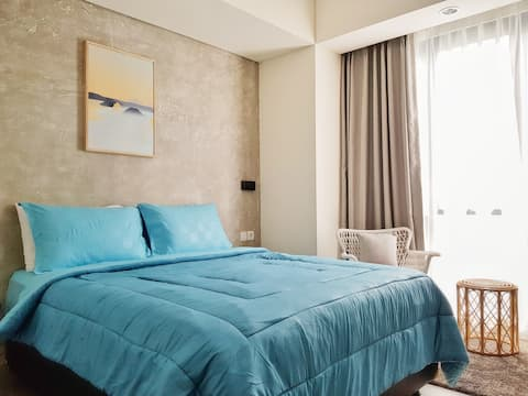 Modern Clean Comfy Room center of Berawa Canggu J