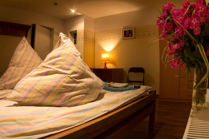 Cosy family room for 3 persons with Balcony - Jelgava - Guesthouse
