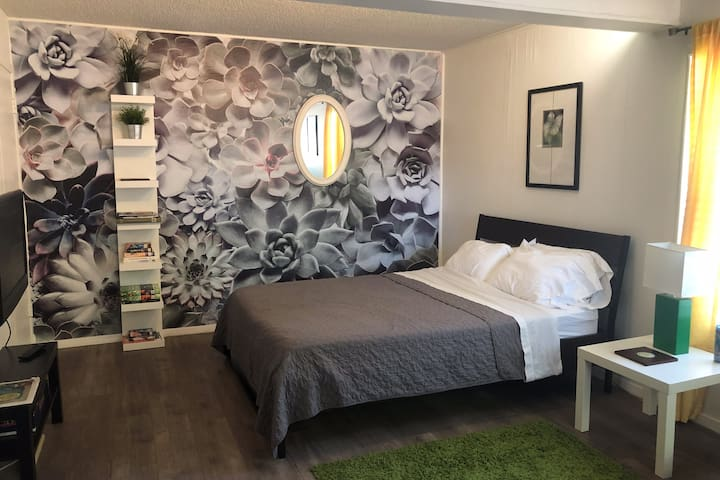 Fully private and disinfected Eastside studio apt!
