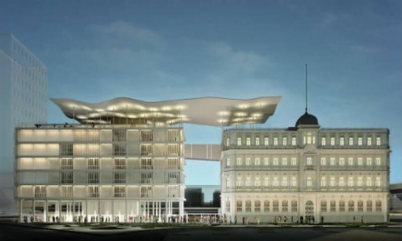 Museu Mar na Orla Olímpica 10 minutos do apartamento