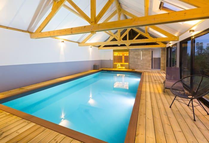 Grd gîte de charme, piscine, sauna, Baie de Somme