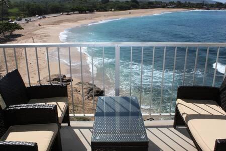Relaxing and Romantic Ocean Front Studio for 2+