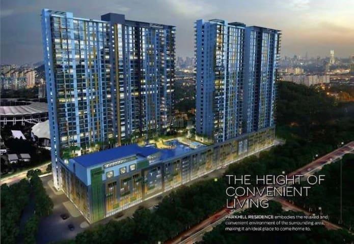 Modern Sweet Home at Bukit Jalil. - Kuala Lumpur - Condomínio