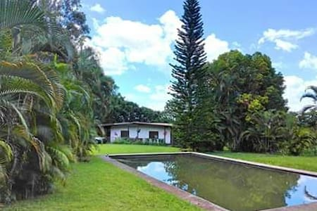 Coco Casita -  Large Tropical Cottage with pool