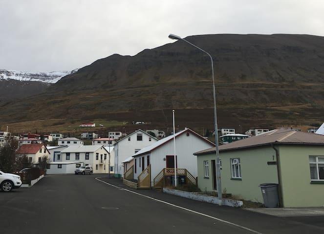 Beautiful, bright, and roomy space in Ólafsfjörður