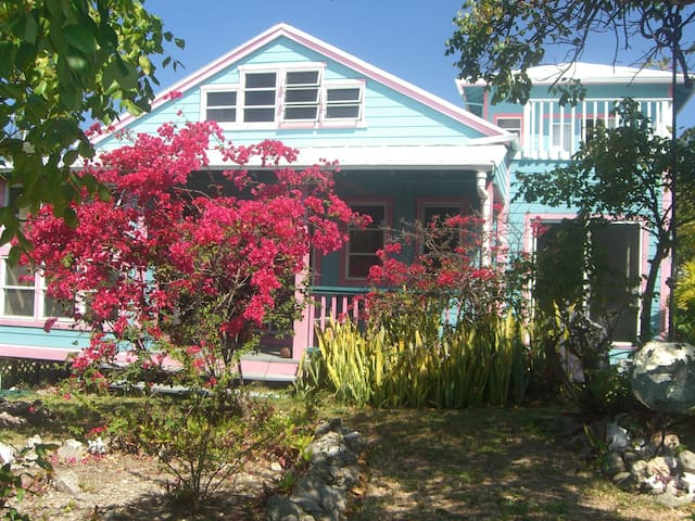 Blue Coral Landing Waterfront Cottage, Guana Cay
