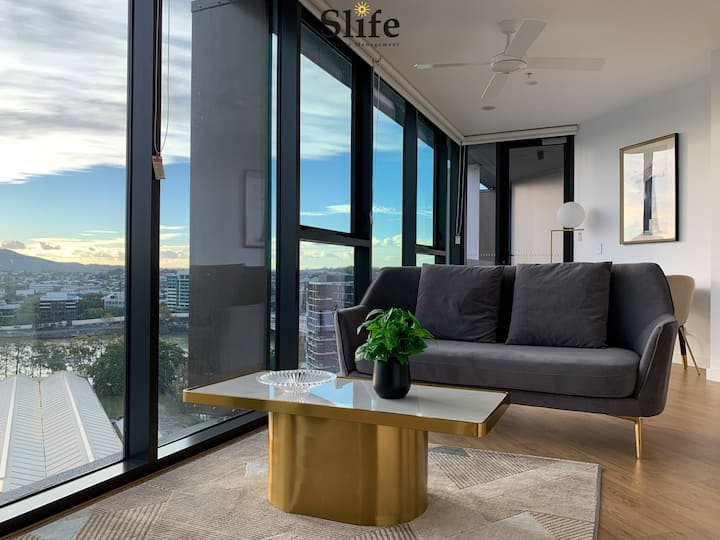 💝Amazing RiverviewStylish💝1BR Apt @ South Brisbane