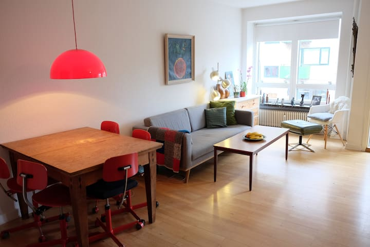 Cosy apartment, parks and shopping. - Charlottenlund - Apartment