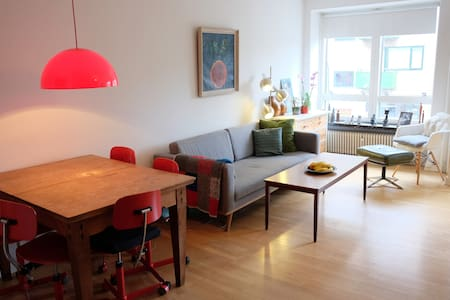 Cosy apartment, parks and shopping. - Charlottenlund