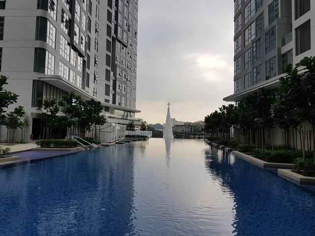 Comfy Apartment Near Bukit Bintang & China Town