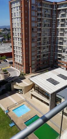 Acogedor Departamento 2 Dorm en Parque Urbano II