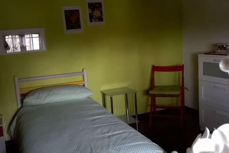 camera in villa immersa nel verde/ camera verde - Concordia Sagittaria