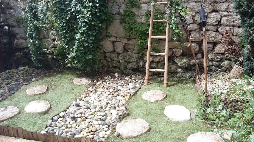 Bel appartement avec jardin à Brie - Brie-Comte-Robert - Huoneisto