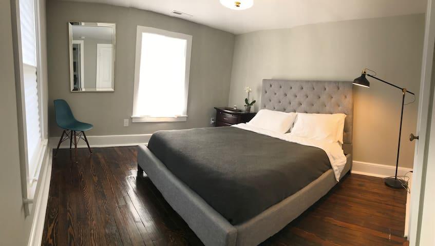 Sauna Retreat w/ modern bed + bath