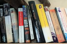 Various Buddhism and spiritual books that you may browse if interested