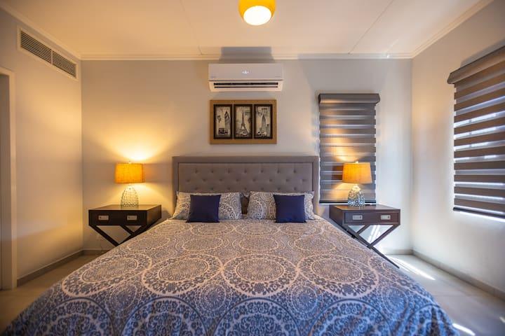 Very spacious master bedroom!