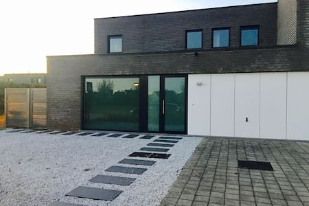 New Modern House With Garden - Melle - Haus