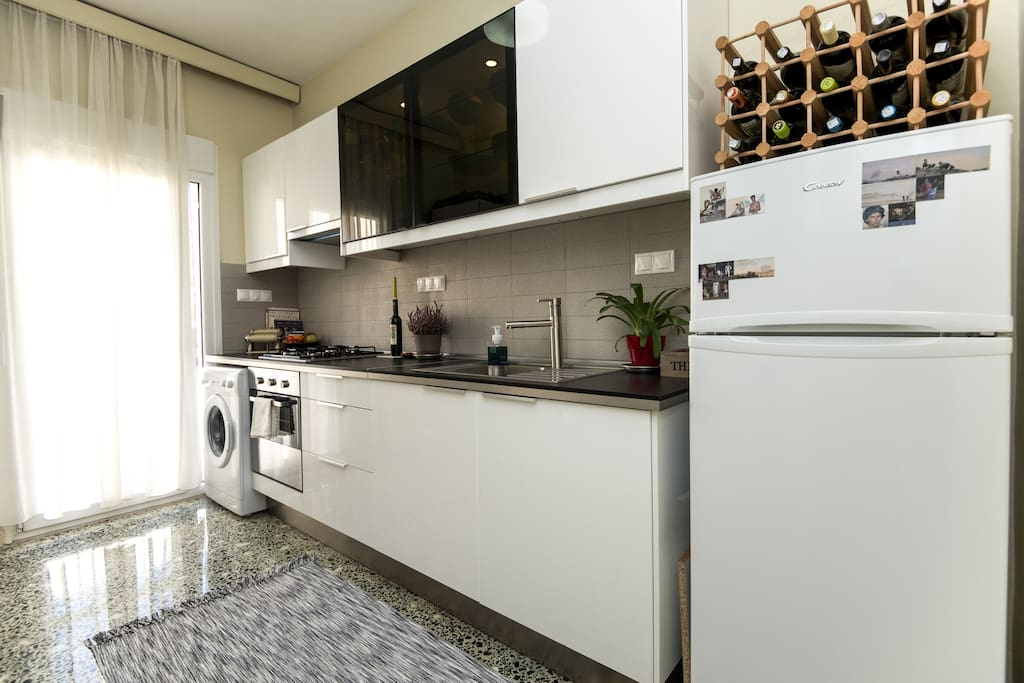 brand new kitchen - fully equipped!