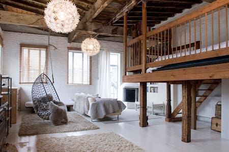 BEAUTIFUL LOFT SPACE - FAB LOCATION - Londra - Loft