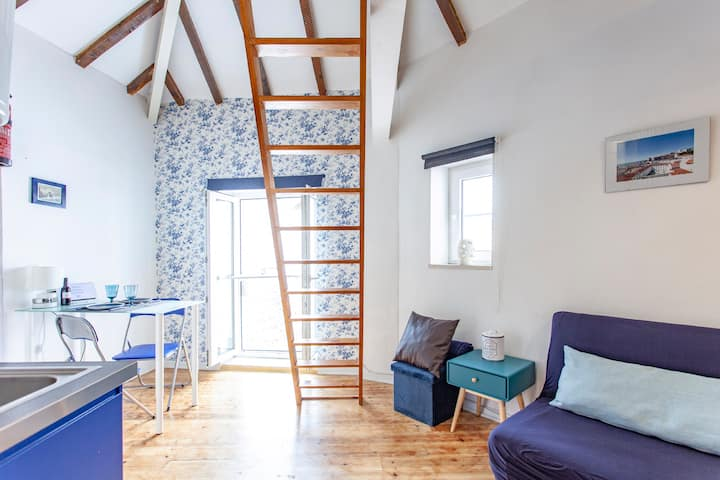 ALFAMA I,penthouse, franz. Balkon,Sonnenkollektor