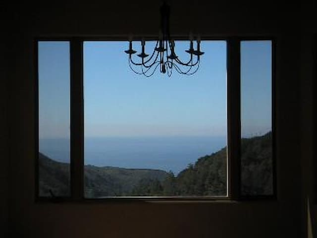 Bella Vista Big Sur, Ocean View, safe from storms - Big Sur - Talo