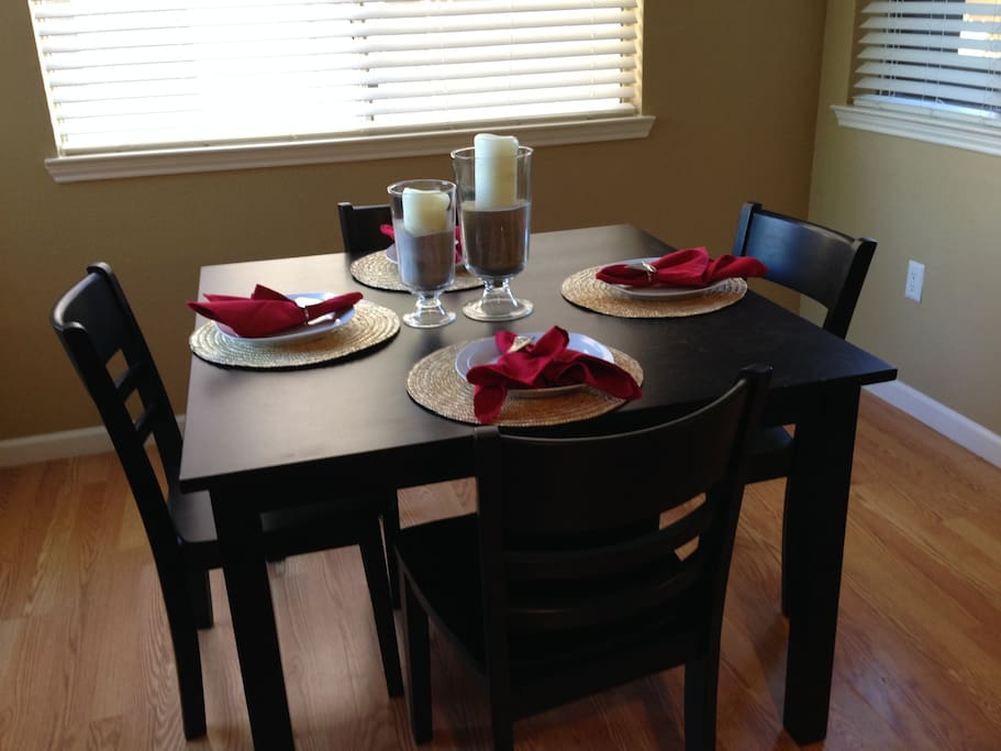 Dining Room with seating for four