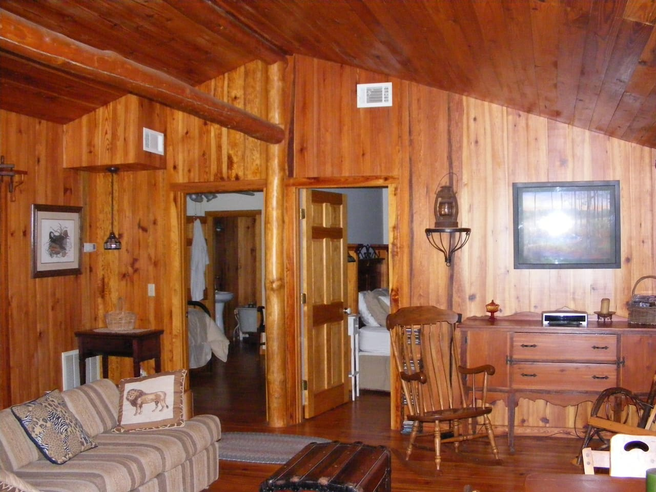 At The Griffin Ranch you encounter classic ,old Florida ranch life....