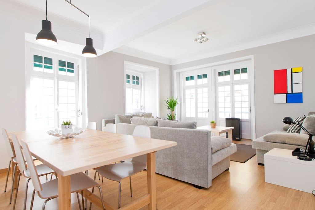 chiado centre cinq chambres 17 personnes maximum appartements louer lisbonne lisbonne. Black Bedroom Furniture Sets. Home Design Ideas