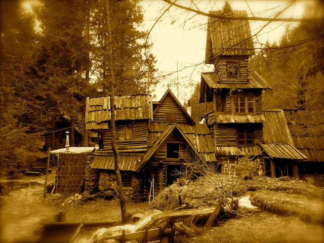 Charming wooden bungalow Zelenkovac - Podrašnica - Skjul