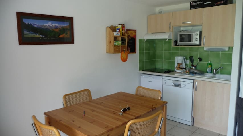 T 2  a 4 KM de saint lary - Guchen - Appartement