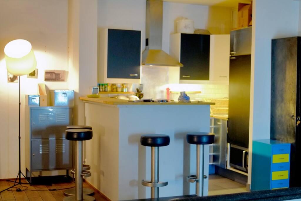 bar cuisine / Bar kitchen
