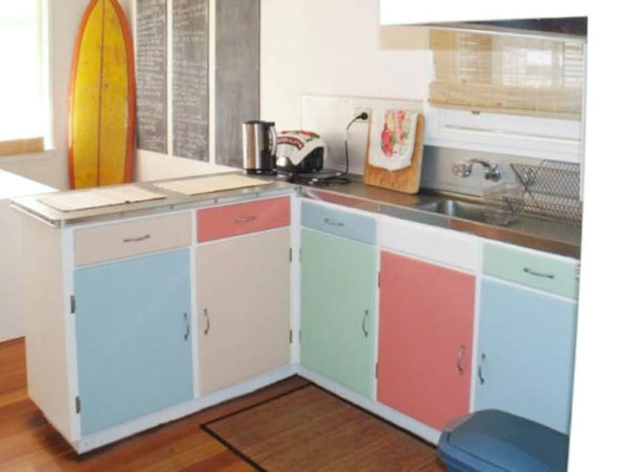 Summer is here & the living is easy in 50's beach house