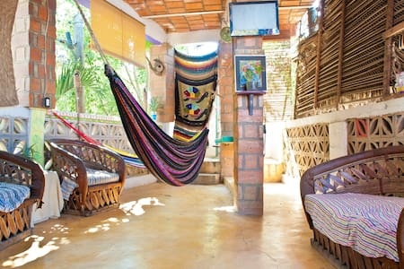 Chillum Surf House Private bedroom