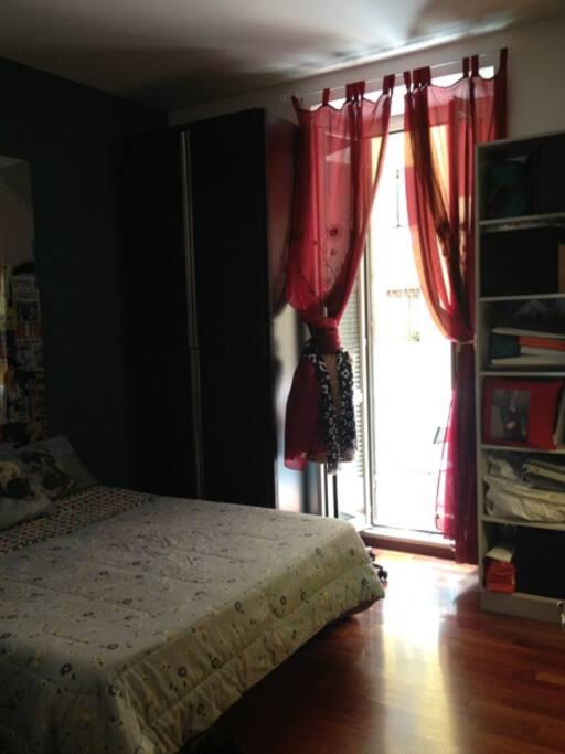 ...la seconda stanza con balconcino