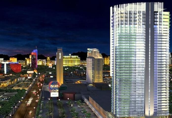 Palms Place Balcony Strip View free movies/wifi - Las Vegas - Jiné