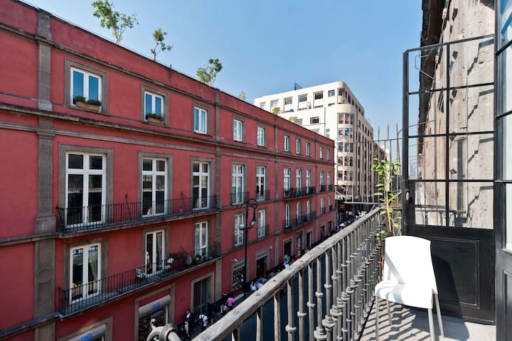City Center - The Legendary Balcony - Mexico City - Apartmen