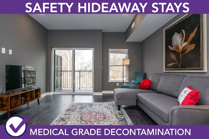 Safety Hideaway - Medical Grade Clean Home 60