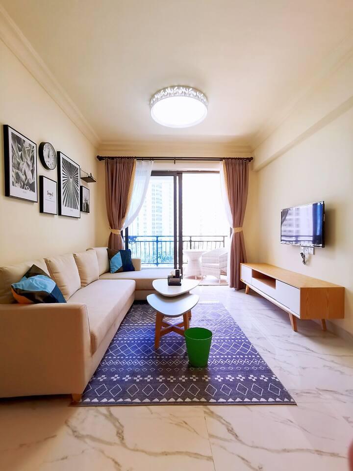 阳西沙扒碧桂园月亮湾二室一厅现代简约风