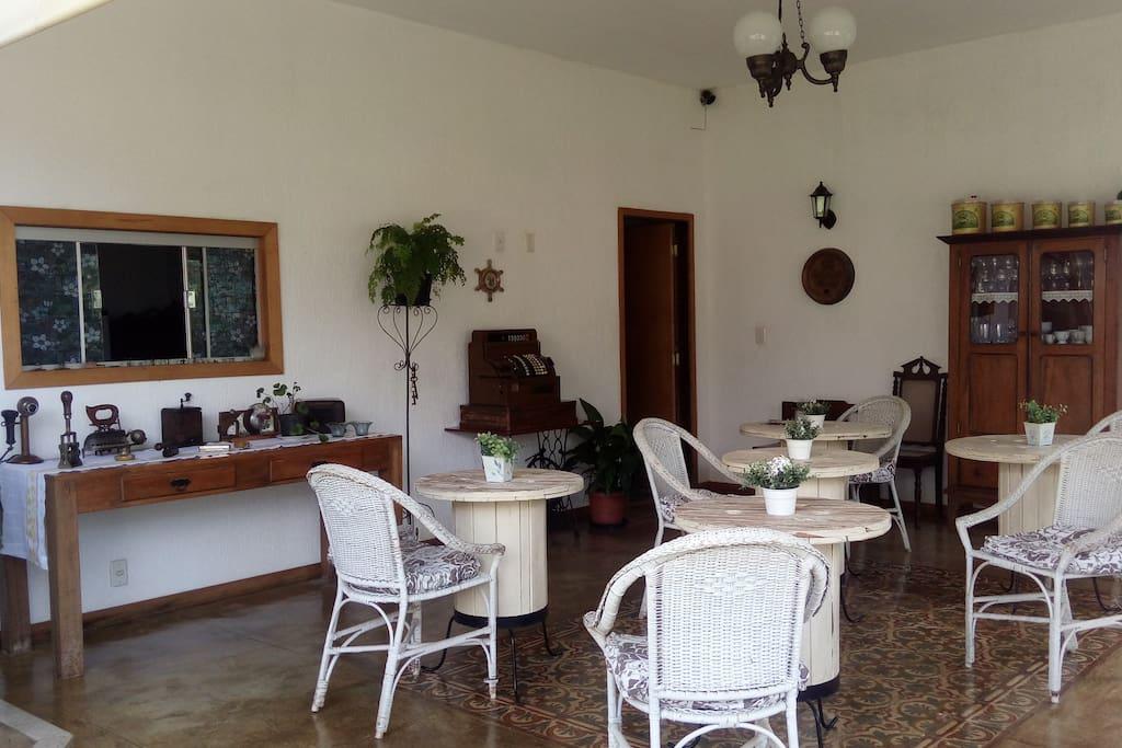 Sala para café/jantar