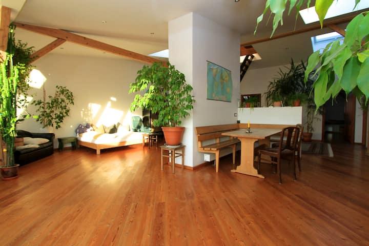 Wunderschöne Dachgeschoss-Wohnung