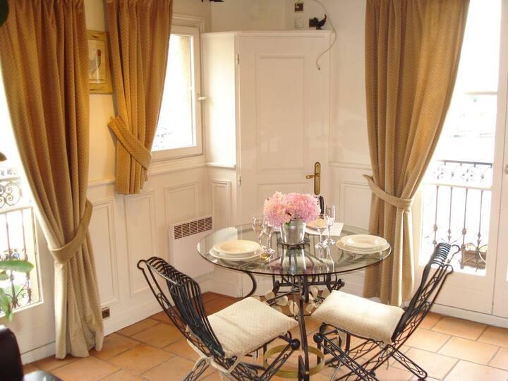 Delicioso apartamento com vista deslumbrante