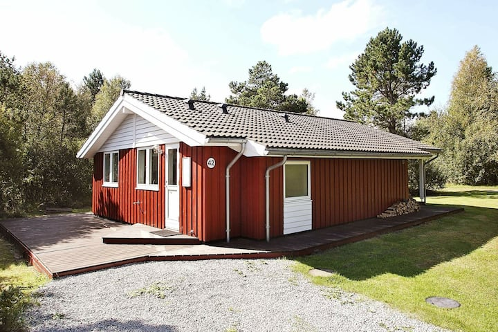 Picturesque Holiday Home in Ålbæk with Sauna